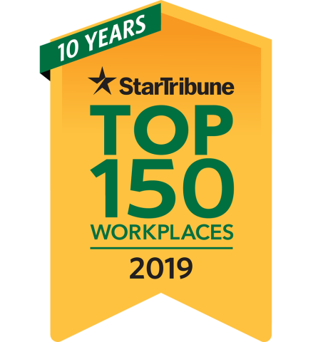 Logo StarTribune Top workplace 2019
